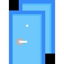 Огромный выбор дверей