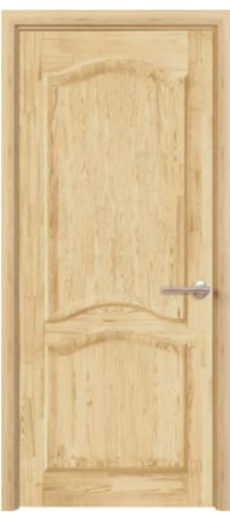 Массив сосны - дом дверей