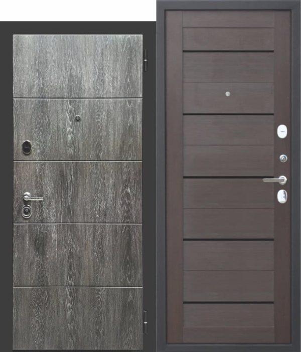Входная дверь Виченца темный кипарис