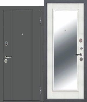 Входная дверь ПОРТУ Эмаль Зеркало
