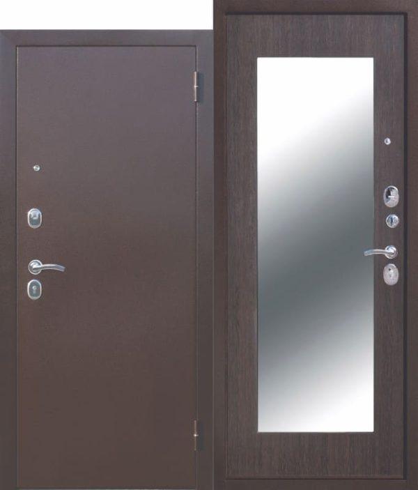 Входная дверь Царское зеркало МАКСИ Венге