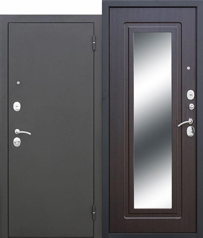 Входная-дверь-Царское-зеркало-Муар-Венге