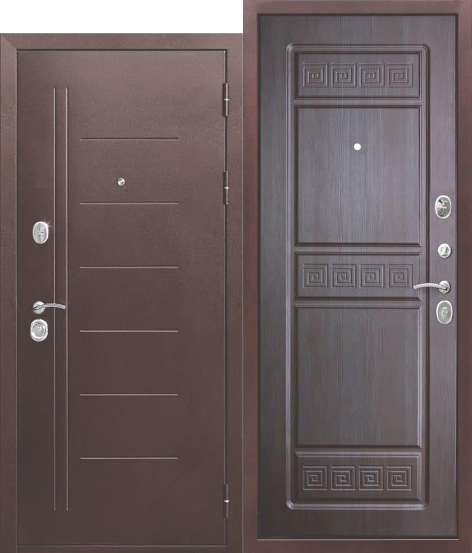 Входная дверь 10 см Троя Антик Венге
