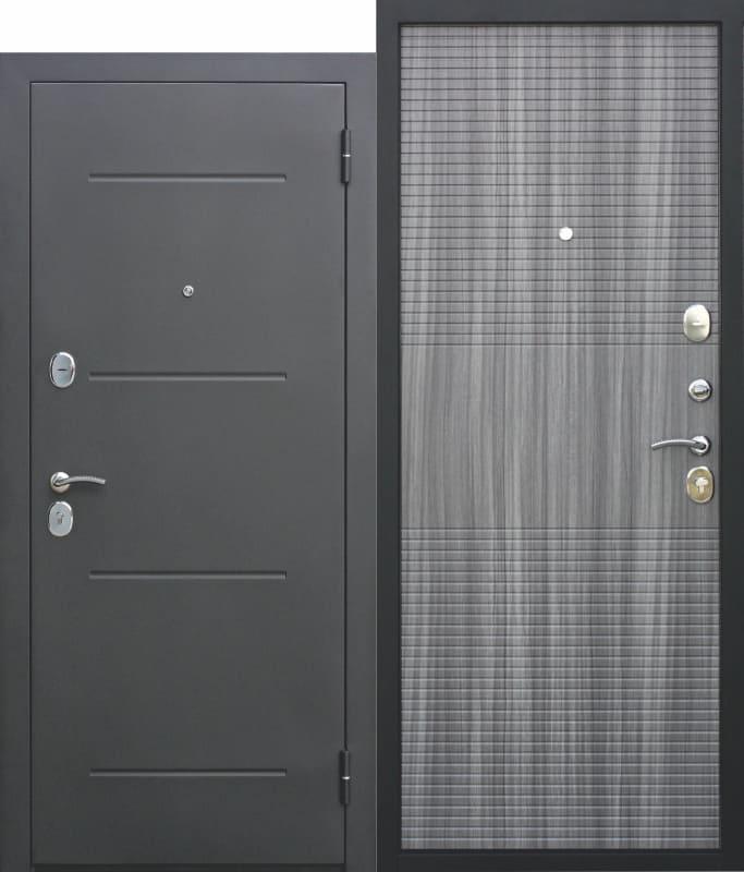 Входная дверь 7,5 см Гарда МУАР Венге тобакко