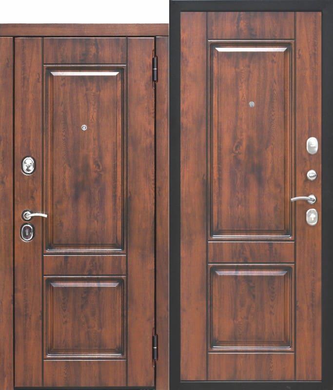 Входная дверь 9,5 см ВЕНА Vinorit Патина МДФ Белый матовый