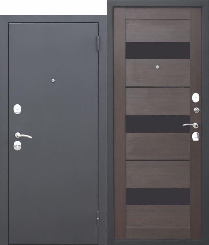 Входная металлическая дверь Гарда МУАР ЦАРГА Темный кипарис