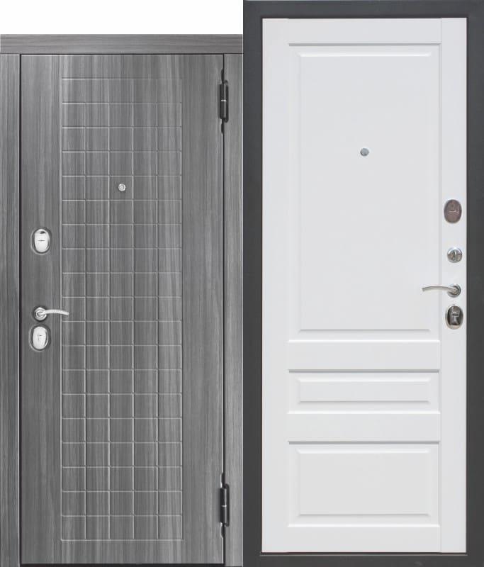 Входная металлическая дверь 10,5 см GARDA МДФ МДФ Царга с МДФ панелями