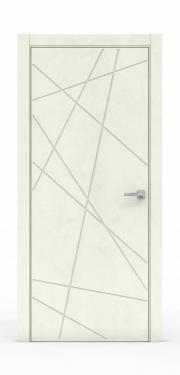 Межкомнатная дверь - Бетон Крем 3218