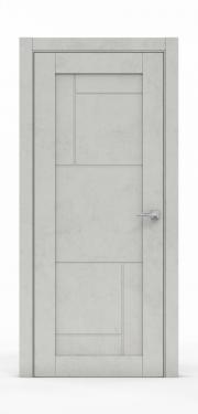 Межкомнатная дверь - Бетон Светлый 0533