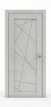 Межкомнатная дверь - Бетон Светлый 0534.