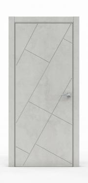 Межкомнатная дверь - Бетон Светлый 3216