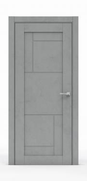 Межкомнатная дверь - Бетон Темный 0533