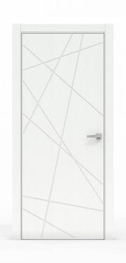 Межкомнатная дверь - Ясень Белый 3218