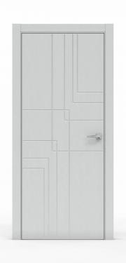 Межкомнатная дверь - Ясень Серый 3217
