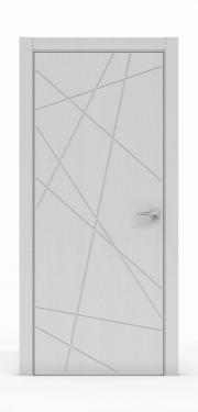 Межкомнатная дверь - Ясень Серый 3218