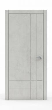 Межкомнатные двери Бетон Светлый 3211