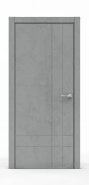Межкомнатные двери Бетон Темный 3211