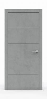 Межкомнатные двери Бетон Темный 3214