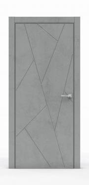 Межкомнатные двери Бетон Темный 3215