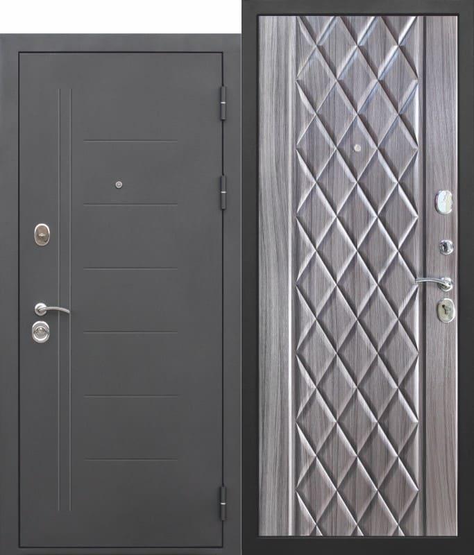 Входная дверь Троя Муар Палисандр темный