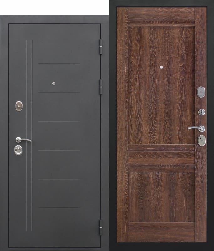 Входная дверь Троя муар Орех сиена Царга