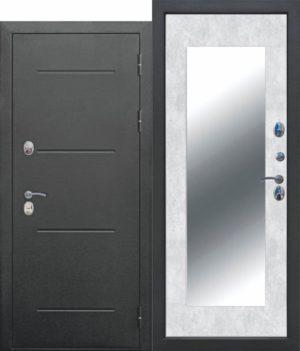 11 см ISOTERMA Букле чёрный Зеркало MAXI Бетон снежный