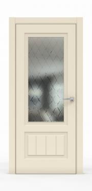 Премиум межкомнатная дверь - Айвори 1501-ГР