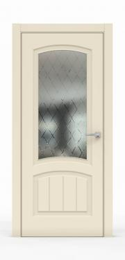 Премиум межкомнатная дверь - Айвори 1502-ГР