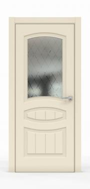 Премиум межкомнатная дверь - Айвори 1503-ГР