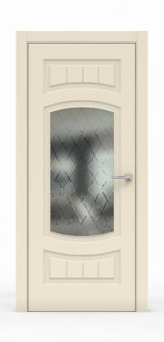 Премиум межкомнатная дверь - Айвори 1504-ГР