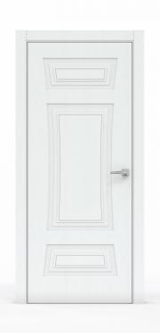 Классическая межкомнатная дверь - Арктик 3803