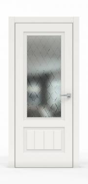 Премиум межкомнатная дверь - Белый 1501-ГР