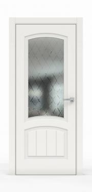 Премиум межкомнатная дверь - Белый 1502-ГР