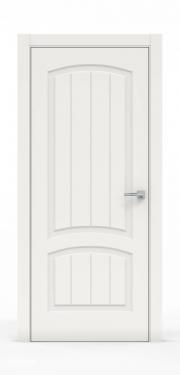 Премиум межкомнатная дверь - Белый 1502