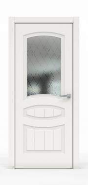 Премиум межкомнатная дверь - Белый 1503-ГР