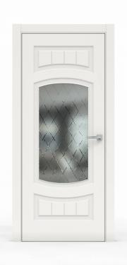 Премиум межкомнатная дверь - Белый 1504-ГР