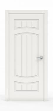 Премиум межкомнатная дверь - Белый 1504