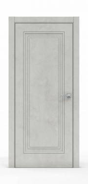 Экошпон дверь - Бетон Светлый 3301