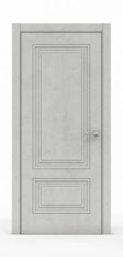 Экошпон дверь - Бетон Светлый 3302
