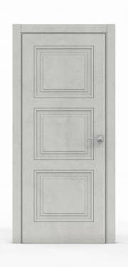 Экошпон дверь - Бетон Светлый 3303