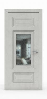 Экошпон дверь - Бетон Светлый 3305 ГР