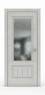 Межкомнатная дверь Бетон Светлый 3501-ГР