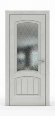 Межкомнатная дверь Бетон Светлый 3502-ГР