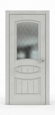 Межкомнатная дверь Бетон Светлый 3503-ГР