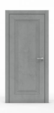 Экошпон дверь - Бетон Темный 3301