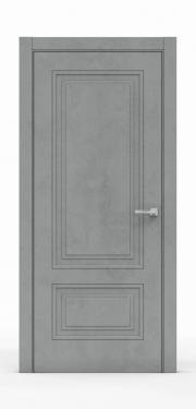 Экошпон дверь - Бетон Темный 3302