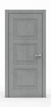 Экошпон дверь - Бетон Темный 3303