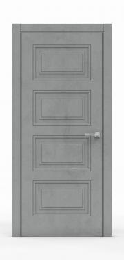 Экошпон дверь - Бетон Темный 3304