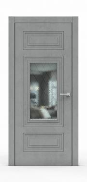 Экошпон дверь - Бетон Темный 3305 ГР