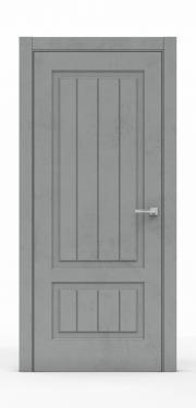 Межкомнатная дверь Бетон Темный 3501